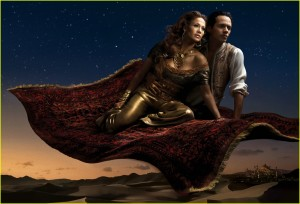 J-Lo and Marc Anthony as Princess Jasmine and Aladin