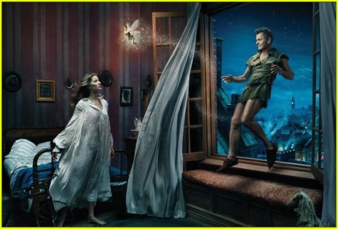 Gisele Bunchen as Wendy Peter Pan