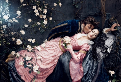 Zac Efron and Vanessa Hudgens as Sleeping Beauty