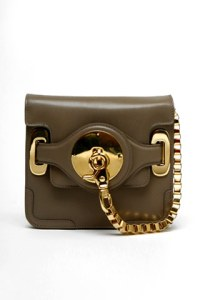 balenciaga leather cherche midi pochette