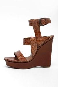 bottega veneta Crocodile platform sandal