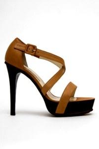 brian atwood Patent leather platform sandal