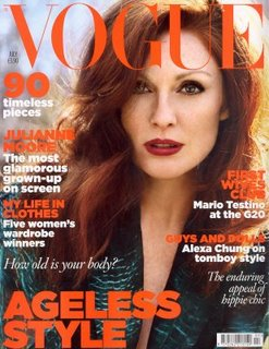 Julianne Moore for British Vogue July 2009