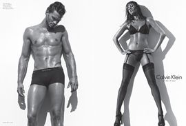 Jamie Dornan and Eva Mendez by Steven Klein
