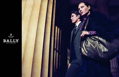 Christy Turlington and Oriol Elcacho by Mario Sorrenti