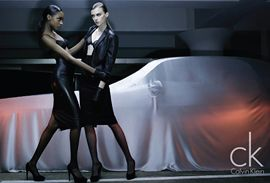 CK Fall 2009 Jourdan Dunn and Sigrid Agren by David Sims