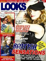 Emma Watson for Looks July 2009