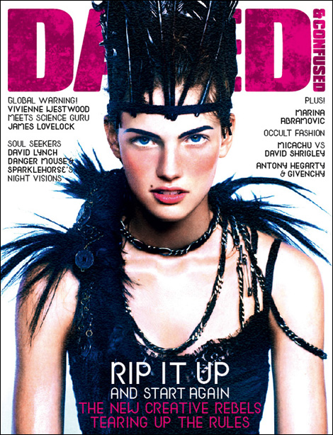 Kendra Spears for Dazed & Confused July 2009
