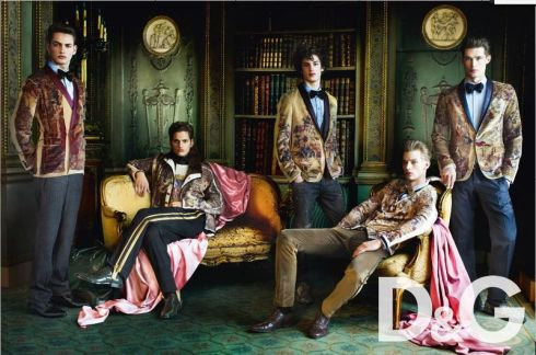 D&G Mens Fall 2009 Ad Campaign