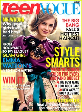 Emma Watson for Teen Vogue August 2009