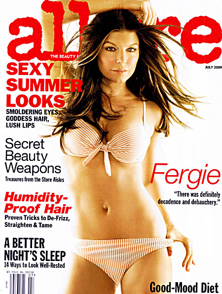 Fergie for Allure July 2009