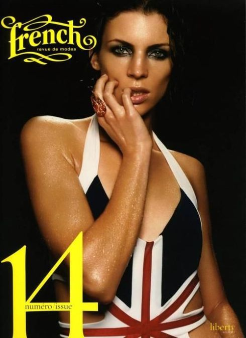 Liberty Ross for French Revue de Modes