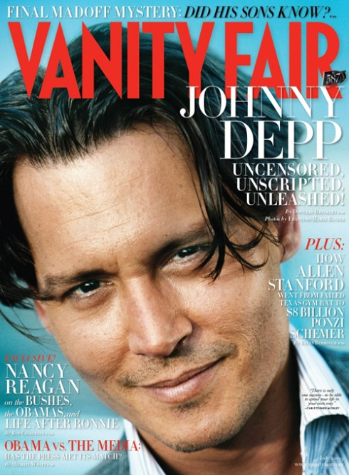Johnny Depp for Vanity Fair July 2009