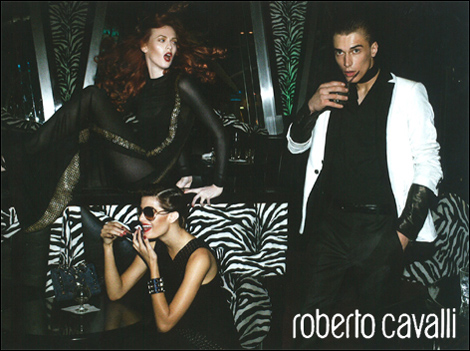 Karen Elson, Isabeli Fontana and Clement by Steven Meisel