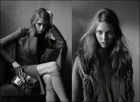 Karlie Kloss by Fabien Baron