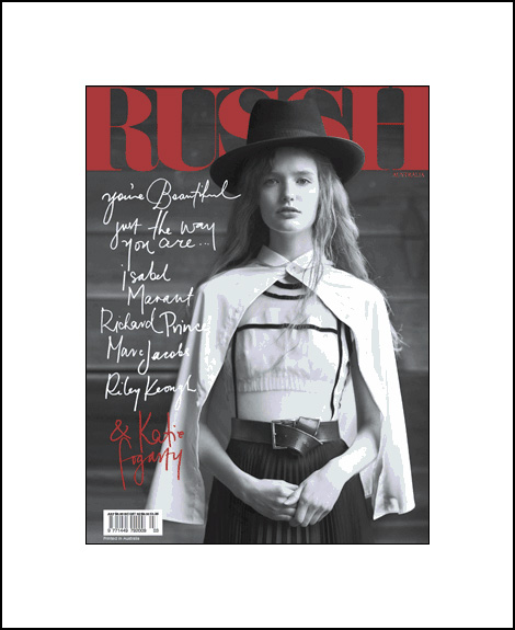 Katie Forgarty for Russh Aussie July 2009
