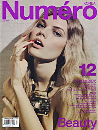 Maryna Linchuk for Numero Korea July 2009