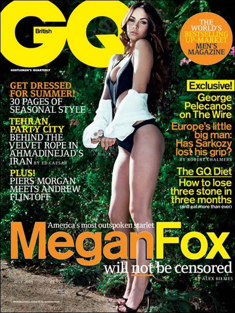 Megan Fox for British GQ July 2009
