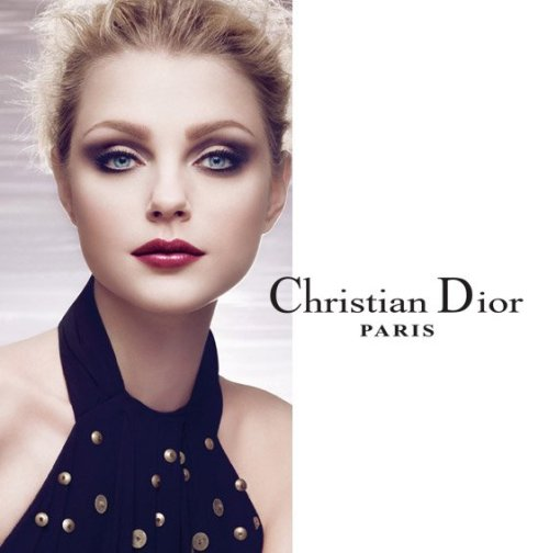 Jessica Stam for Christian Dior Cosmetic Fall 2009
