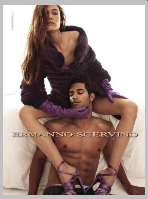 Bianca Balti & Nathan Owens by Patrick Demarchelier