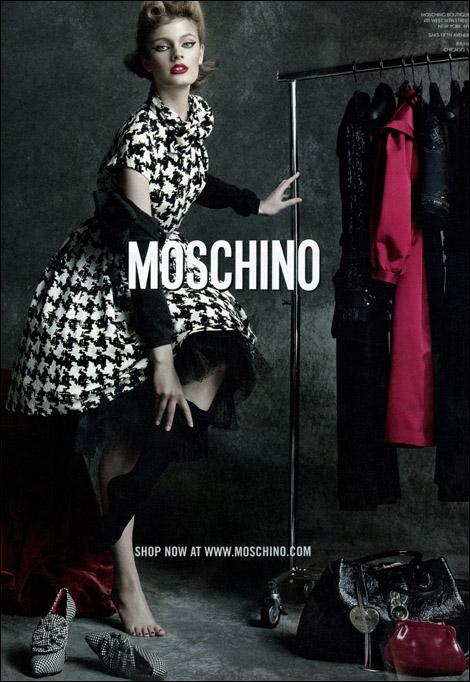 Contansce Jablonski for Moschino