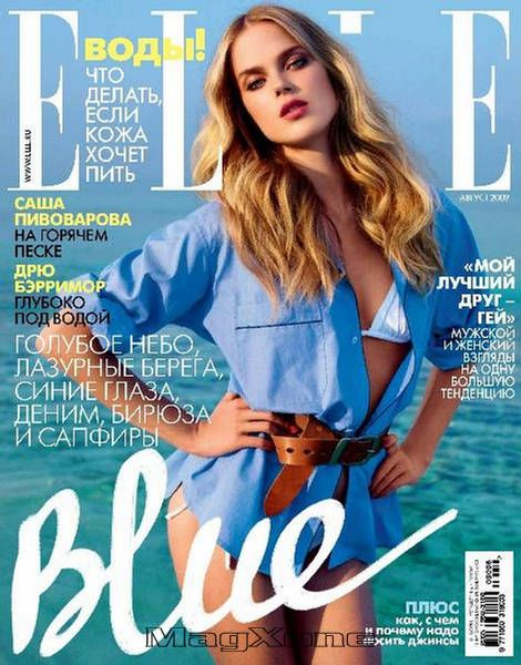 Shannan Click for Elle Rusia August 2009