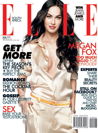 Megan Fox for Elle South Africa July 2009