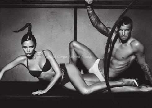 David Beckham & Victoria Beckham by Mert & Marcus