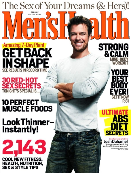 Josh Duhamel for Men's Health