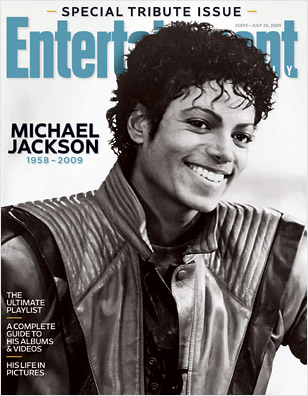 Michael Jackson for EW Tribute Issue