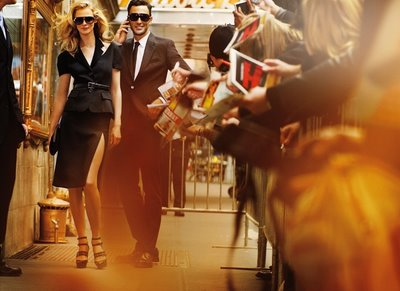 Michael Kors Fall 2009 Carmen Kass and Noah Mills by Mario Testino