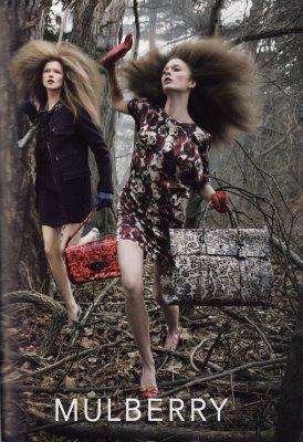 Kasia Struss & Irina Kulikova by Steven Meisel
