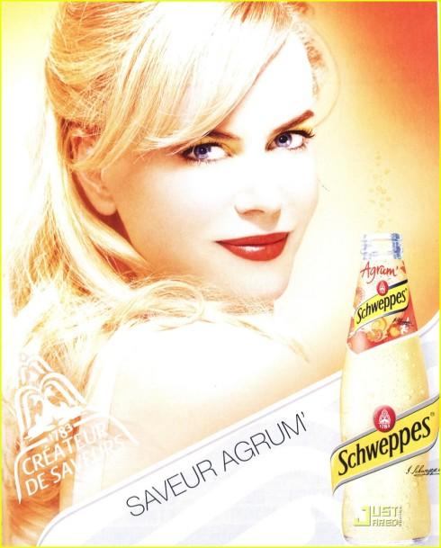 Nicole Kidman for Schweppes