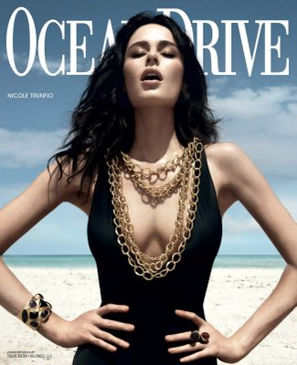 nicole trunfio vogue australia february 2010. Nicole Trunfio for Ocean Drive