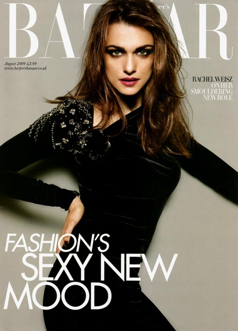 Rachel Weisz for Bazaar UK