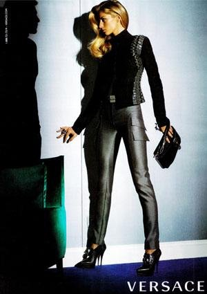 Gisele Bundchen for Versace Fall 2009 by Mario Testino