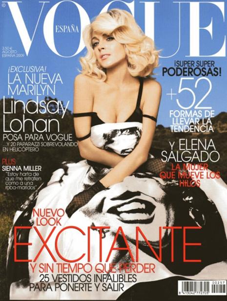 Lindsay Lohan by Alix Malka