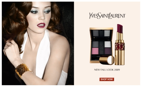 Diana Moldovan for YSL Beaute