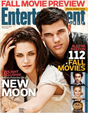 Kristen Stewart & Taylor Lautner August 21 2009
