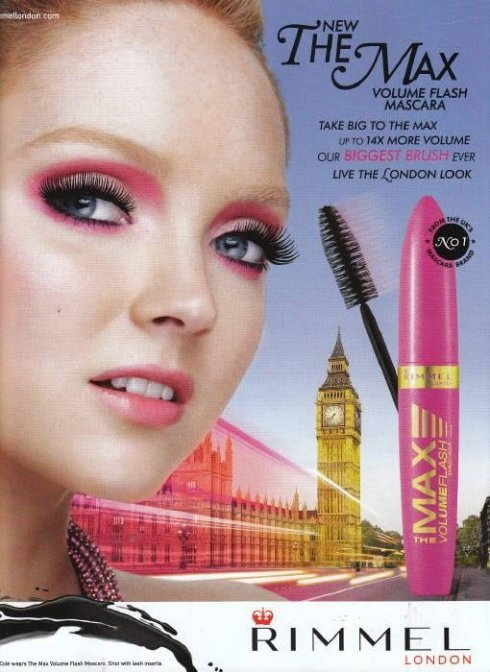 Lily Cole for Rimmel