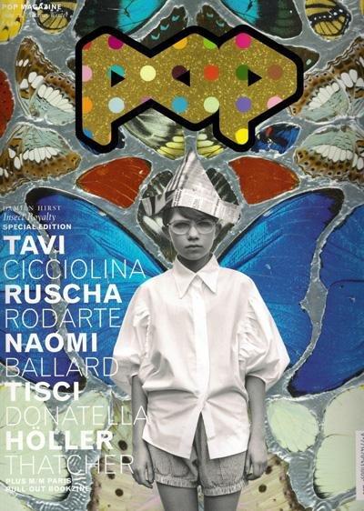 Tavi Gevinson, art also by Damien Hirst