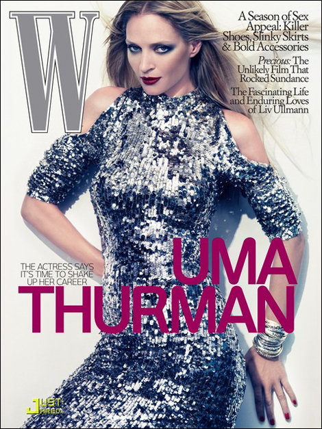 Uma Thurman by Steven Klein