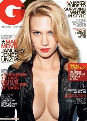 january jones gq. January Jones for GQ US