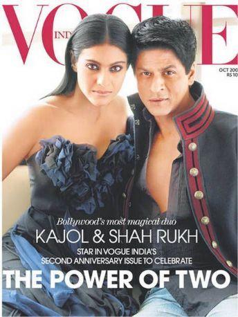 Kajol Devgan & Shah Rukh Khan