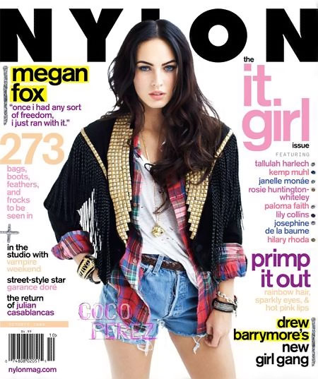 Megan Fox by Marvin Scott Jarrett