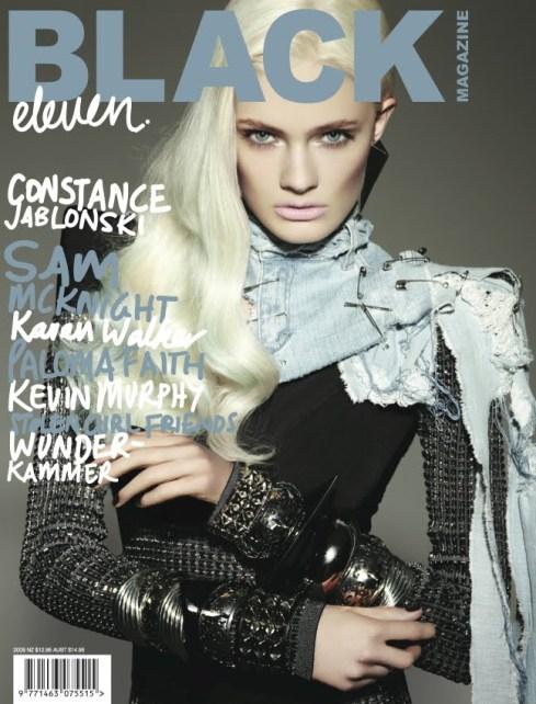 Black Magazine # 11 Constance Jablonski by Michael Schwartz
