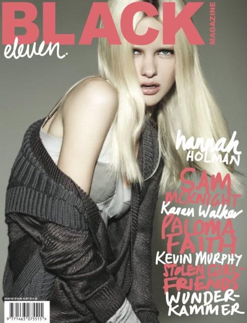 Black Magazine # 11 Hannah Holman by Michael Schwartz