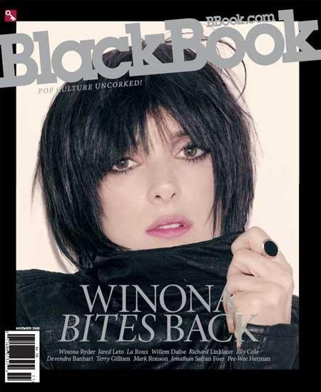 BlackBook Nov 09 Wynona Ryder
