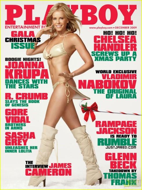 Chelsea Handler Playboy US Dec 09