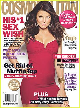 Cosmopolitan Dec 09 Fergie